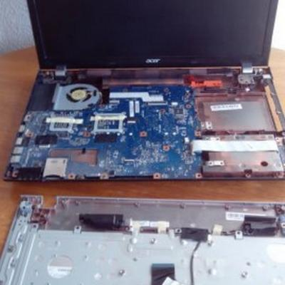 Demontage ordinateur portable pour nettoyage