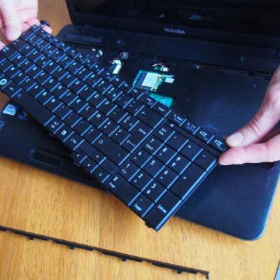 Remplacement clavier ordinateur portable