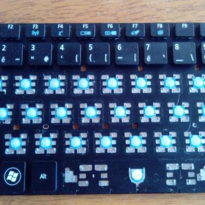 remplacement clavier Acer aspire 11