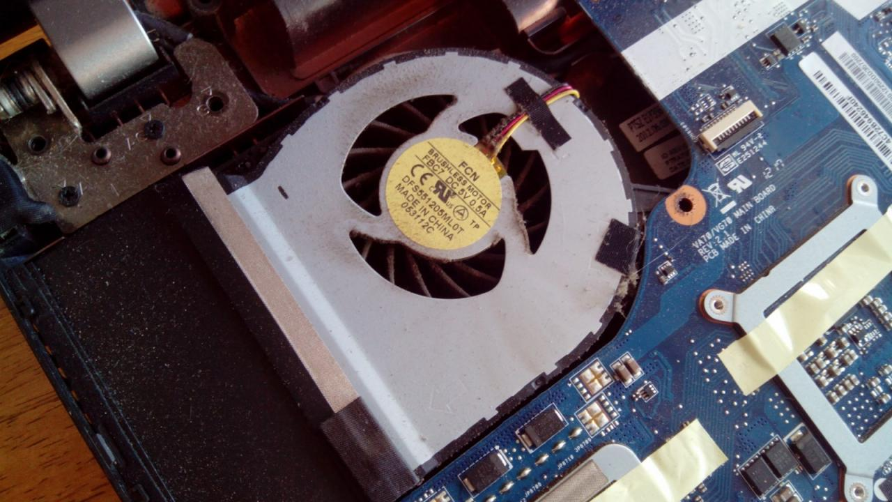 ventilateur ordinateur
