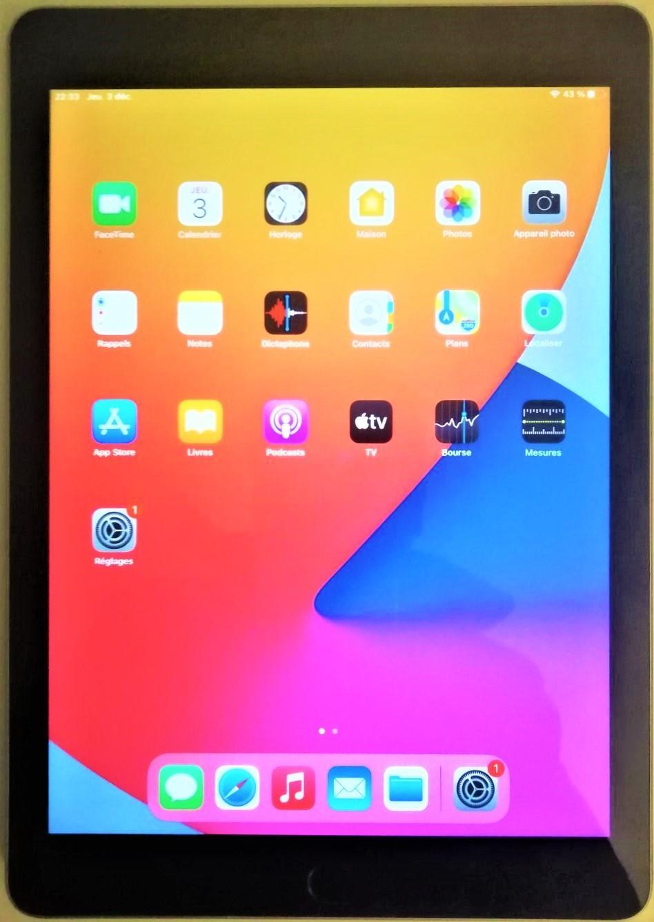 iPad débloqué