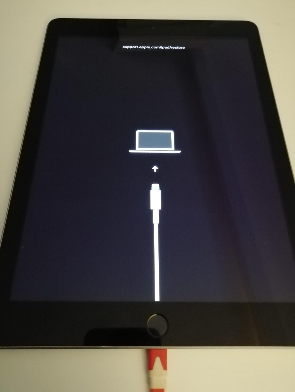 Connexion de l'iPad à l'ordinateur
